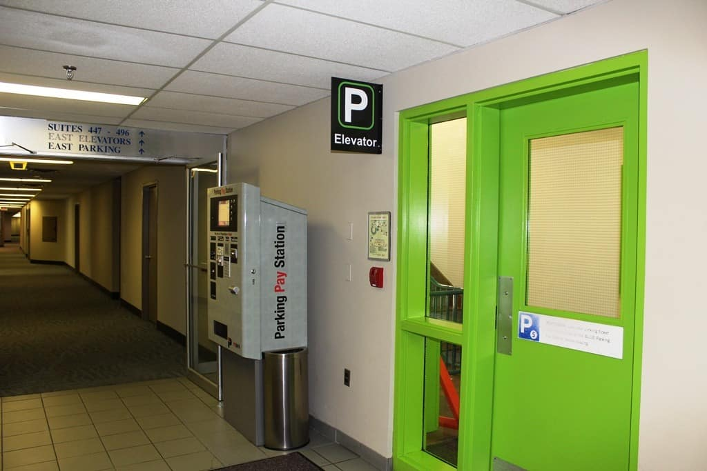 4 West Pay Station at Palliser Parkade