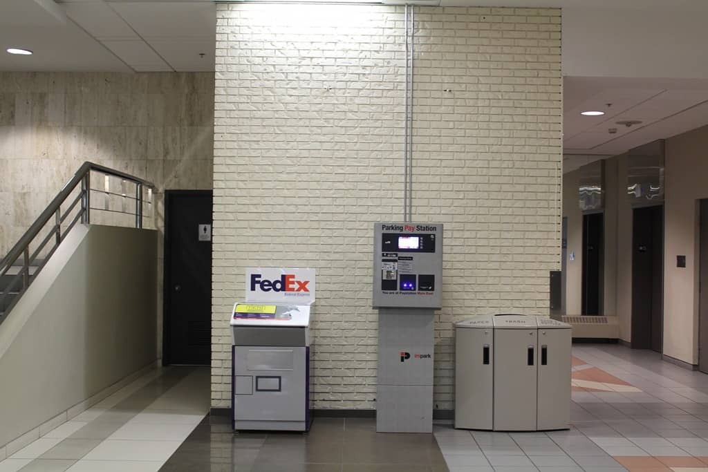 Main East Pay Station - Palliser Parkade