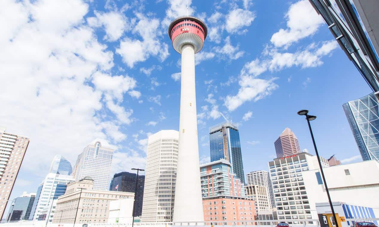 Calgary Tower Parking Available At The Palliser Parkade On