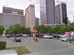 Parking's best on 3rd Avenue SW by Eau Claire Market!