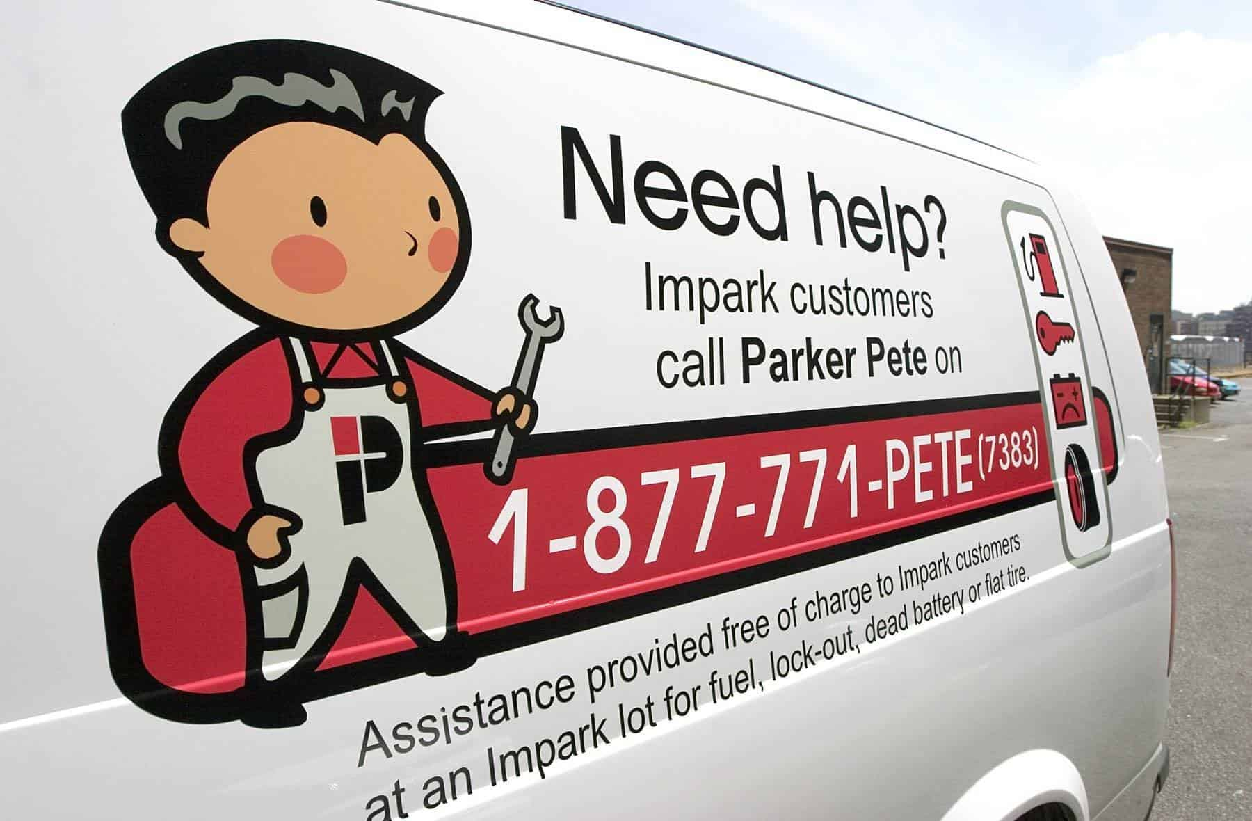 Parker Pete Car by Cheap Parking Calgary