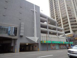 Bow Parkade Entrance By Cheap Parking Calgary